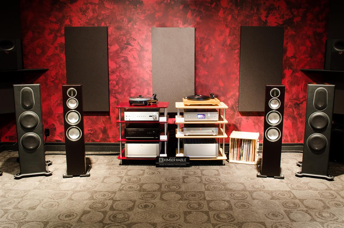 Premium Audio in Showroom