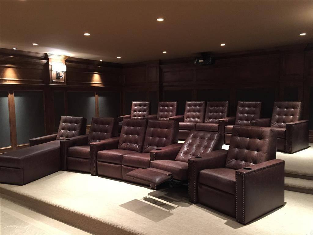 Home Theatre Ogden - Recliners
